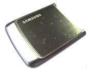 Samsung G800 Крышка батарейная (аккумуляторная), grey, GH98-06263A (оригинал)