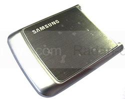 Samsung G800 Крышка батарейная (аккумуляторная), grey, GH98-06263A (оригинал), radan-osp.com - оригинальные комплектующие, фото
