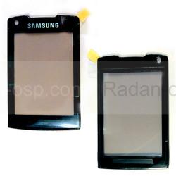 Samsung U900 Защитное стекло, black, GH98-07400A (оригинал), radan-osp.com - оригинальные комплектующие, фото