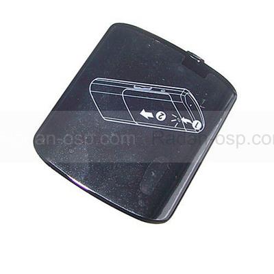 Samsung S7350 Крышка батарейная (аккумуляторная), noble black, GH98-11750B (оригинал)