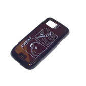 Samsung S8000 Крышка батарейная (аккумуляторная), rose black, GH98-12808A (оригинал)