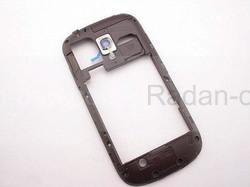 Задняя часть корпуса Brown Samsung I8200Galaxy S3 mini VE, GH98-24991E (оригинал), radan-osp.com - оригинальные комплектующие, фото