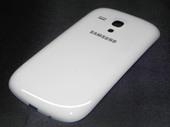 Крышка аккумулятора, Ceramic White Samsung I8200Galaxy S3 mini VE, GH98-24992A (оригинал)