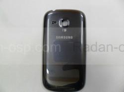 Крышка батареи Metallic Blue Samsung I8200Galaxy S3 mini VE, GH98-24992B (оригинал), radan-osp.com - оригинальные комплектующие, фото