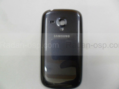 Крышка батареи Metallic Blue Samsung I8200Galaxy S3 mini VE, GH98-24992B (оригинал)
