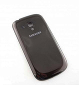 Крышка батареи (brown) Samsung I8200 Galaxy S3 mini VE, GH98-24992E (оригинал)