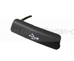 Заглушка разъема USB Samsung S7710 Galaxy Xcover 2 (Black), GH98-25616B (оригинал), radan-osp.com - оригинальные комплектующие, фото