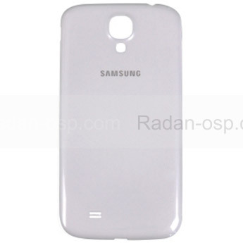 Samsung I9500/ I9505 Крышка батарейная белая, GH98-26755A (оригинал)