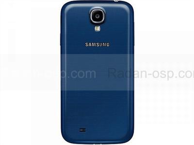 Samsung I9500/ I9505 Galaxy S4 Крышка батарейная синяя, GH98-26755C (оригинал)