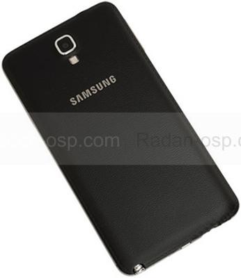 Крышка батареи Samsung N7502 Galaxy Note 3 Neo Duos(Black), GH98-31660A (оригинал)