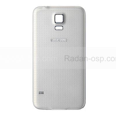 Крышка аккумулятора Samsung G900H/ G900F Galaxy S5 (White), GH98-32016A (оригинал)