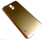 Крышка аккумулятора Samsung G900H/ G900F Galaxy S5 (Gold), GH98-32016D (оригинал)