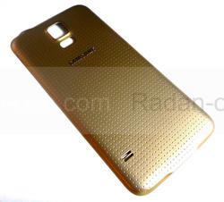 Крышка аккумулятора Samsung G900H/ G900F Galaxy S5 (Gold), GH98-32016D (оригинал), radan-osp.com - оригинальные комплектующие, фото
