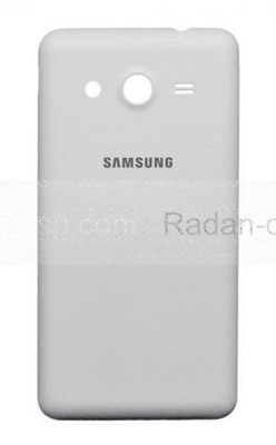 Крышка батареи White Samsung G355H Galaxy Core 2 Duos, GH98-32591A (оригинал)