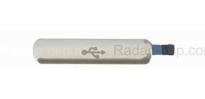Заглушка разъема USB, Gold Samsung G900H/ G900F/ G900FD Galaxy S5, GH98-32941D (оригинал)