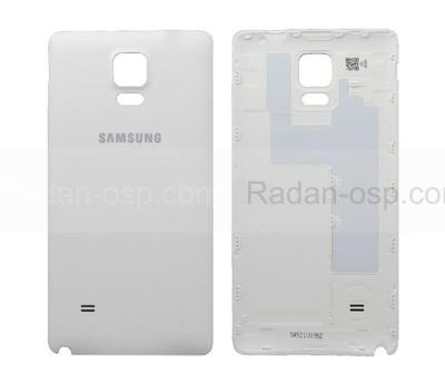 Крышка батареи Samsung N910C/ N910H (White), GH98-34209A (оригинал)