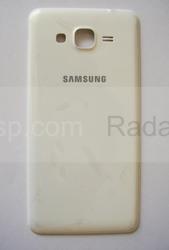 Крышка аккумулятора Samsung G530H Grand Prime (White), GH98-35592A (оригинал), radan-osp.com - оригинальные комплектующие, фото