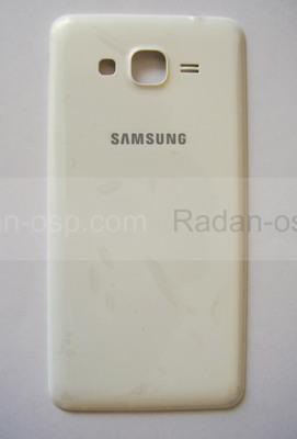 Крышка аккумулятора Samsung G530H Grand Prime (White), GH98-35592A (оригинал)