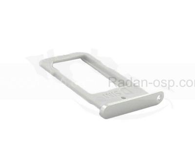 Держатель SIM Samsung G925F Galaxy S6 Edge (White), GH98-35872B (оригинал)