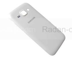 Крышка батареи Samsung J100H Galaxy J1 (White), GH98-36089A (оригинал), radan-osp.com - оригинальные комплектующие, фото