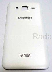 Крышка задняя (батареи) Samsung Galaxy J5 J500H (White), GH98-37820A (оригинал), radan-osp.com - оригинальные комплектующие, фото