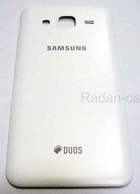 Крышка задняя (батареи) Samsung Galaxy J5 J500H (White), GH98-37820A (оригинал)