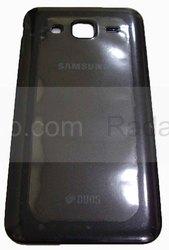 Крышка задняя (батареи) Samsung Galaxy J5 J500H (Black), GH98-37820C (оригинал), radan-osp.com - оригинальные комплектующие, фото