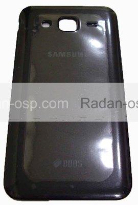 Крышка задняя (батареи) Samsung Galaxy J5 J500H (Black), GH98-37820C (оригинал)