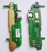 FLY IQ4404 Плата антенны с разъемом USB и компонентами, KI150SMTBBZJ (оригинал)