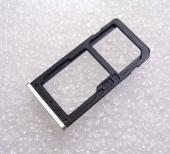 Держатель сим карты Dual Sim Nokia 6 Silver, MED1C02005A (оригинал)