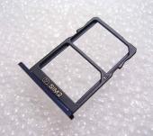 Держатель сим карты Dual Sim Nokia 5 (Tempered Blue), MEND102013A (оригинал)