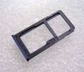Держатель сим карты Dual Sim Nokia 6 (Tempered Blue), MEPLE02003A (оригинал)