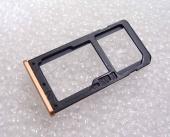 Держатель сим карты Dual Sim Nokia 6 (Copper), MEPLE02004A (оригинал)