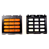 Sony W580I Клавиатура набора номера, Orange/ Black, SXA1097984/303 (оригинал)