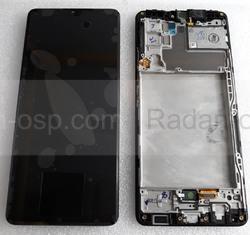Дисплей (экран) Samsung Galaxy A42 5G A426, A425 (Black), GH82-24375A сервисный оригинал, radan-osp.com - оригинальные комплектующие, фото