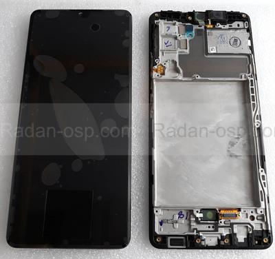 Дисплей (экран) Samsung Galaxy A42 5G A426, A425 (Black), GH82-24375A сервисный оригинал