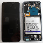 Дисплей (екран) Samsung Galaxy S21 G991 (Phantom Grey) Dynamic AMOLED, GH82-24718A, GH82-24716A (сервісний оригінал)